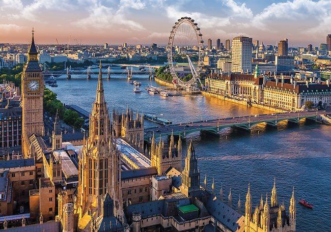 Puzzle TREFL 1000 dílků - Londýn, Velká Británie