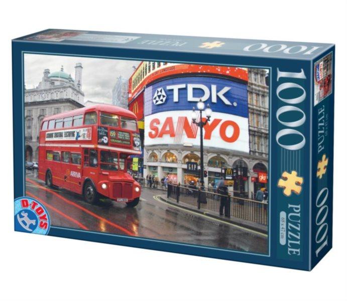 D-TOYS Puzzle Londýn, Velká Británie 1000 dílků