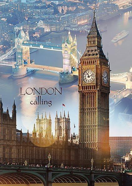 Puzzle TREFL 1000 dílků - Londýn za úsvitu