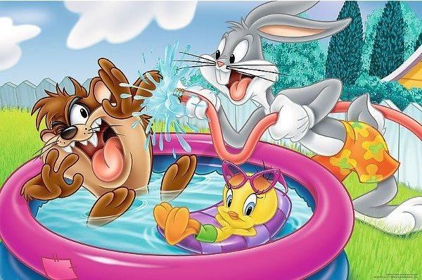 TREFL Puzzle Looney Tunes MAXI 24 dílků