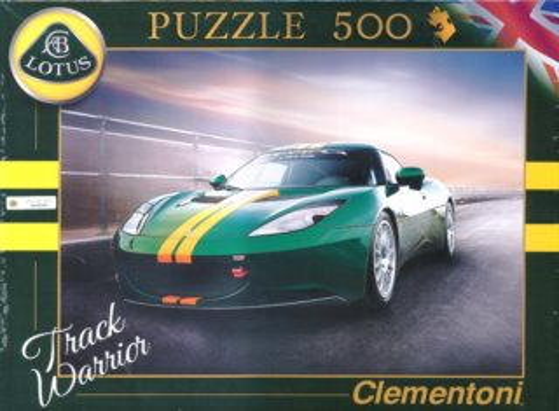 CLEMENTONI Puzzle Lotus Evora GTS 500 dílků