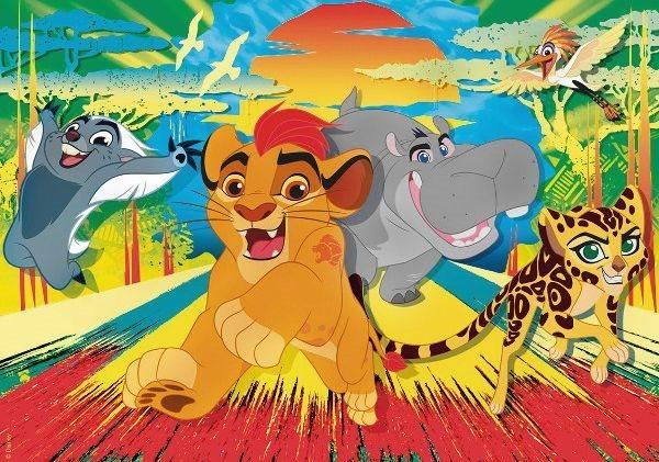 CLEMENTONI Puzzle Lví hlídka: Kamarádi 60 dílků