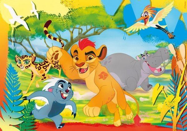 CLEMENTONI Puzzle 60 dílků - Lví hlídka