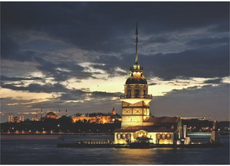 ART PUZZLE Puzzle Maiden's Tower, Turecko 1000 dílků