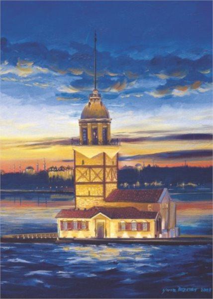 ART PUZZLE Puzzle Maiden's Tower, Turecko 500 dílků