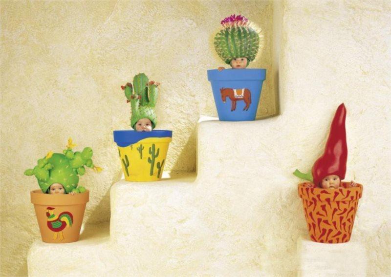 Puzzle SCHMIDT 58922 Malé kaktusy 1000 dílků