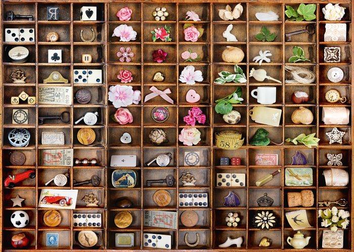 SCHMIDT Puzzle Malé poklady 2000 dílků