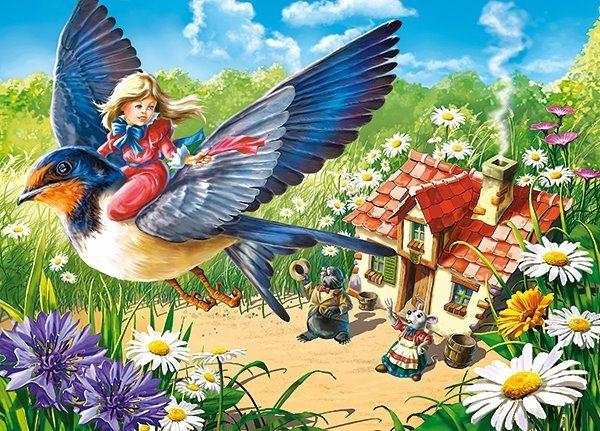 CASTORLAND Puzzle Malenka 120 dílků