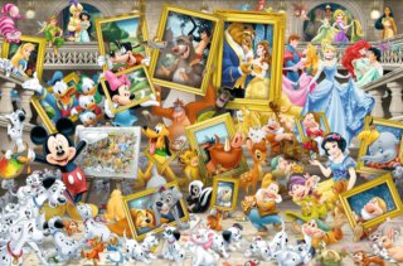 Puzzle RAVENSBURGER 17432 Malíř Mickey 5000 dílků