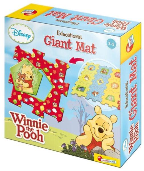 LISCIANI Puzzle Medvídek Pú GIANT MAT 12 dílků