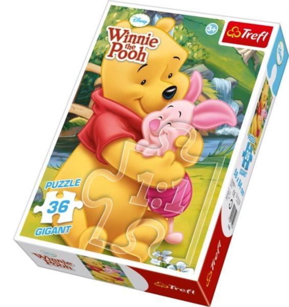 TREFL Puzzle Medvídek Pú GIGANT 36 dílků