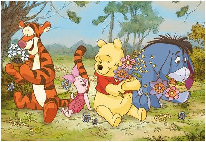 Dětské puzzle DINO 24 dílků - Medvídek Pú na louce