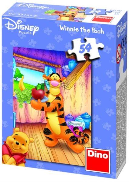 DINO Puzzle Medvídek Pú - Tygr 54 dílků