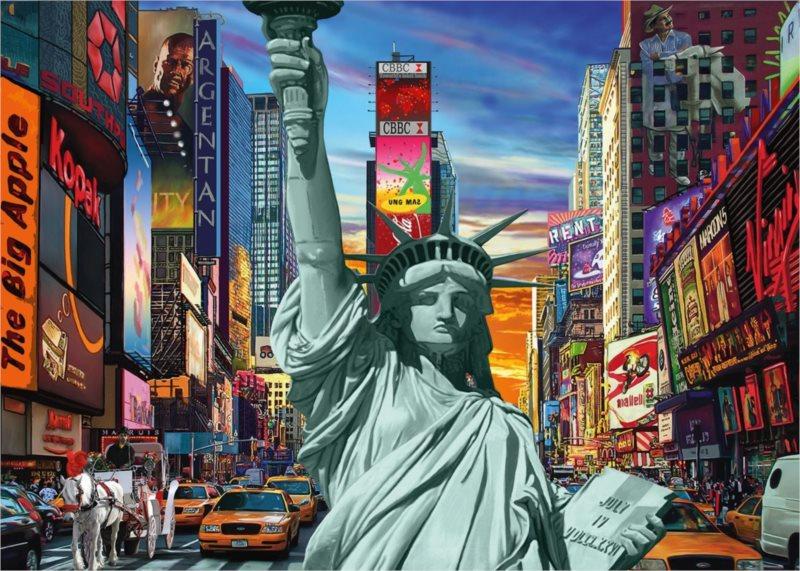 JUMBO Puzzle Město New York 1000 dílků