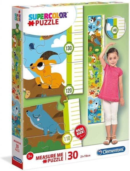 CLEMENTONI Puzzle metr Zvířátka 30 dílků