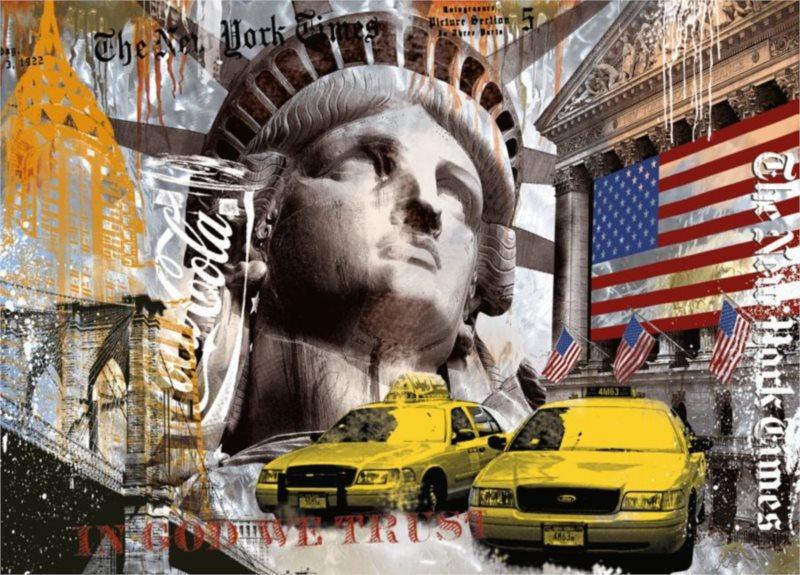 Puzzle RAVENSBURGER Metropole New York 9000 dílků