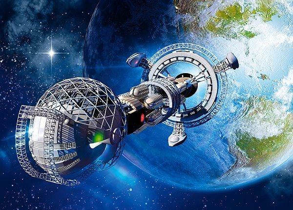 CASTORLAND Puzzle Mezihvězdná kosmická loď 180 dílků