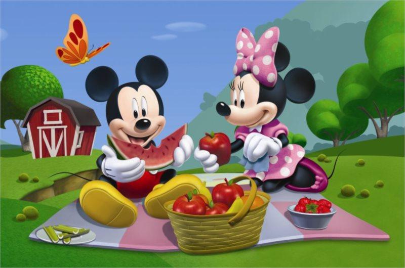 DINO Puzzle Mickey Mouse na pikniku 66 dílků