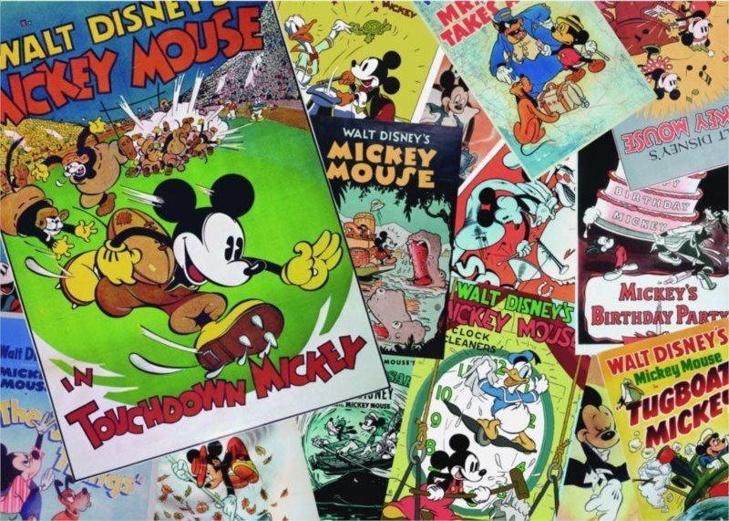 Puzzle DINO 500 dílků - Mickey plakát