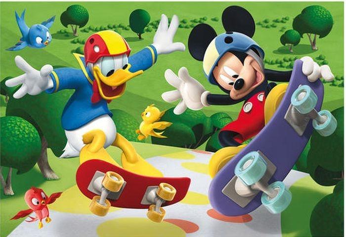 Dětské puzzle DINO 24 dílků - Mickeyho klubík