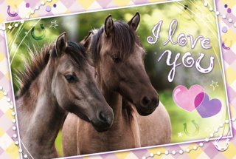 TREFL Puzzle Milujeme koně 260 dílků