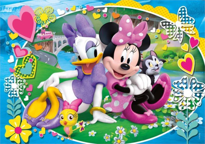 CLEMENTONI Puzzle Minnie a Daisy 60 dílků
