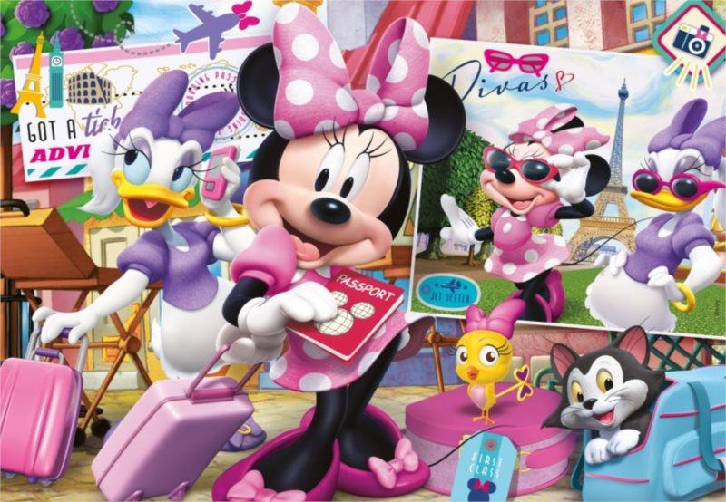 CLEMENTONI Puzzle Minnie a Daisy na dovolené 30 dílků