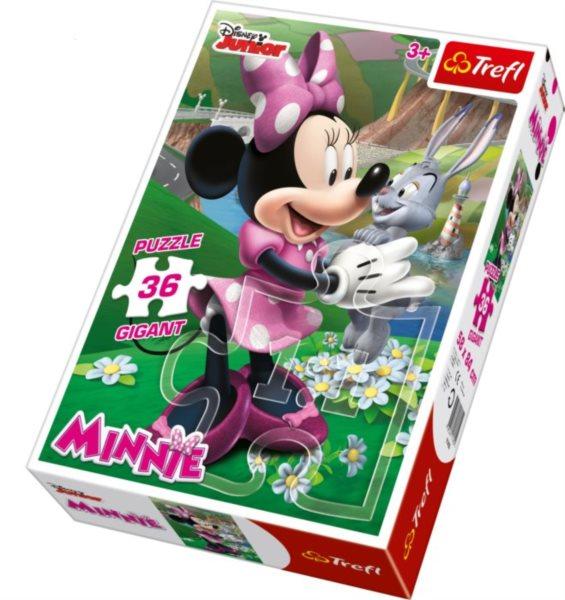 TREFL Puzzle Minnie GIGANT 36 dílků