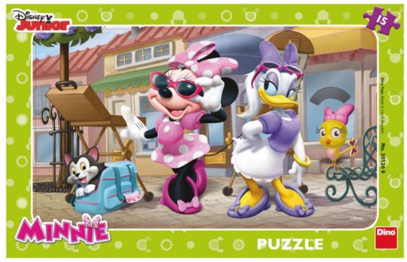 DINO Puzzle Minnie na Montmartru 15 dílků
