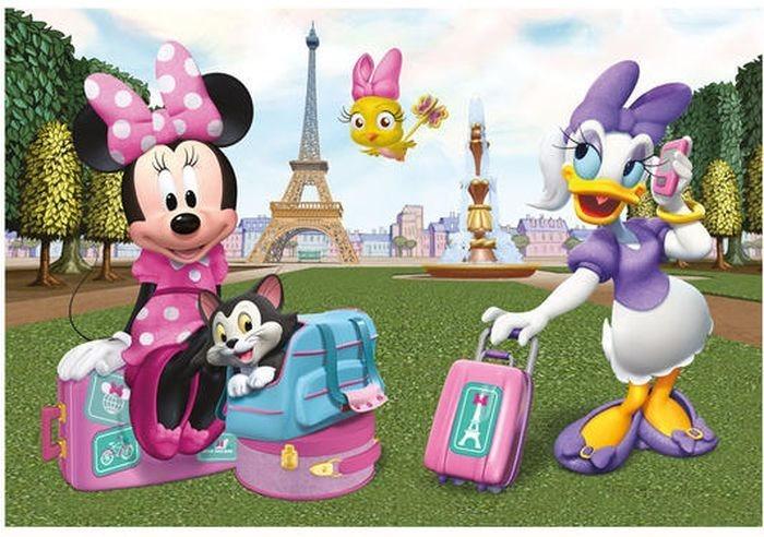 Dětské puzzle DINO 24 dílků - Minnie v Paříži