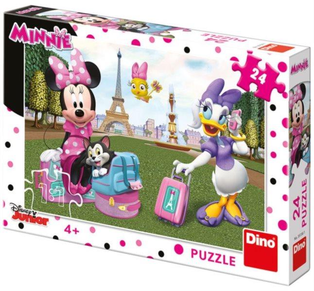DINO Puzzle Minnie v Paříži 24 dílků