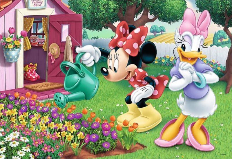 TREFL Puzzle Minnie: Zalévání květin 160 dílků
