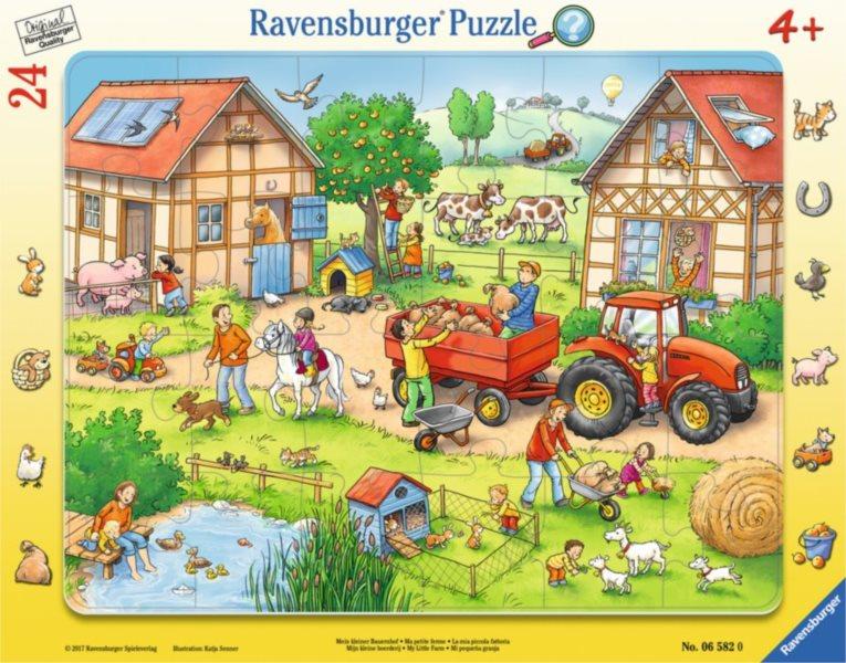 RAVENSBURGER Puzzle Moje malá farma 24 dílků