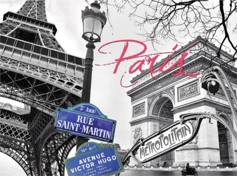Puzzle RAVENSBURGER 300 dílků - Moje Paříž