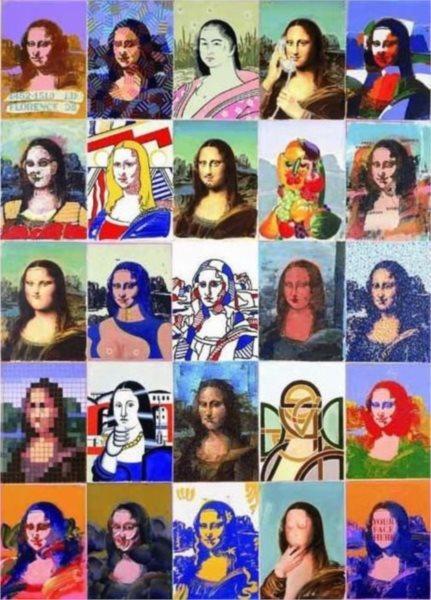 Puzzle EDITIONS RICORDI 1000 dílků - P. Giovanopoulos: Mona Lisa