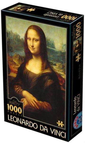 Puzzle D-TOYS 72689 Leonardo da Vinci: Mona Lisa 1000 dílků