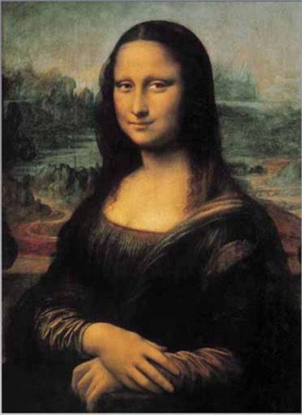 EDITIONS RICORDI Puzzle Mona Lisa 1500 dílků