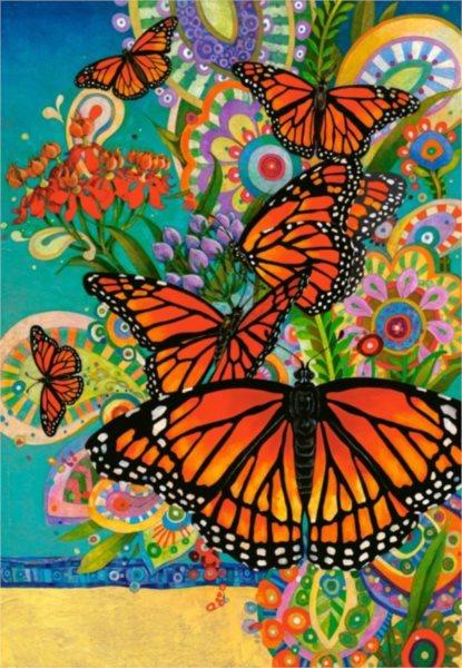 CASTORLAND Puzzle Monarcha stěhovavý 1000 dílků