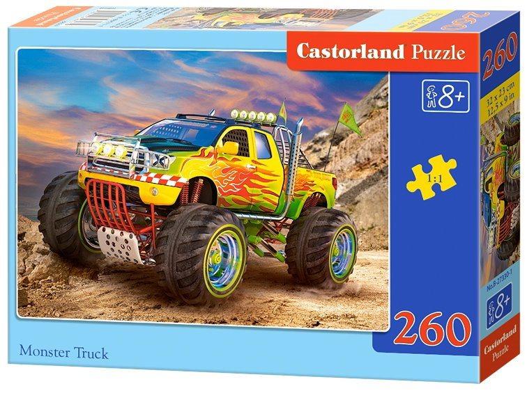 CASTORLAND Puzzle Monster Truck 260 dílků