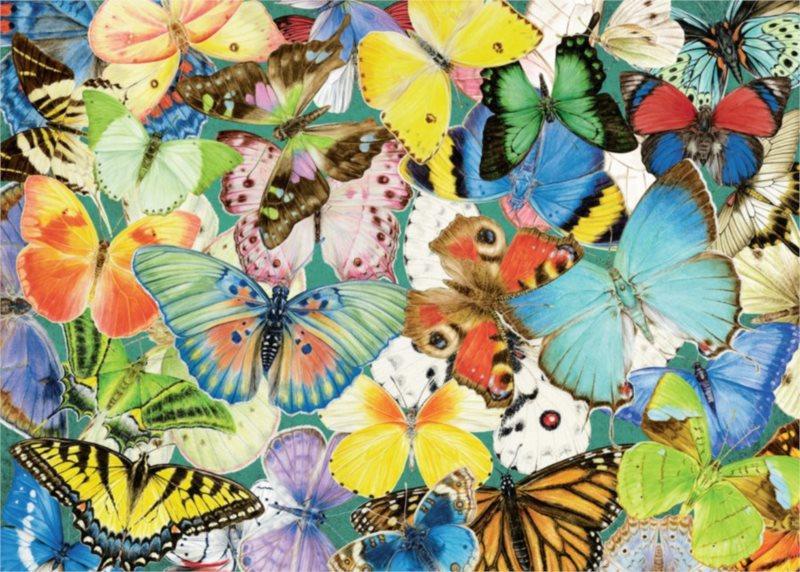 RAVENSBURGER Puzzle Motýli XXL 500 dílků