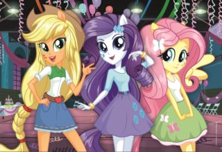 TREFL Puzzle My Little Pony: Equestria Girls 160 dílků
