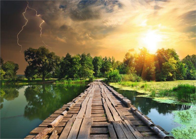 RAVENSBURGER Puzzle Mystické nebe 1000 dílků