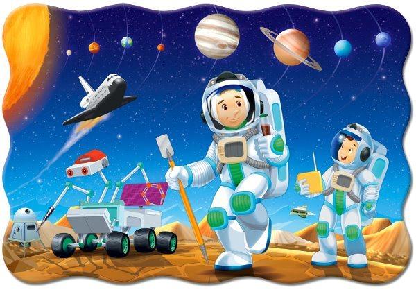 CASTORLAND Puzzle Na jiné planetě MAXI 20 dílků