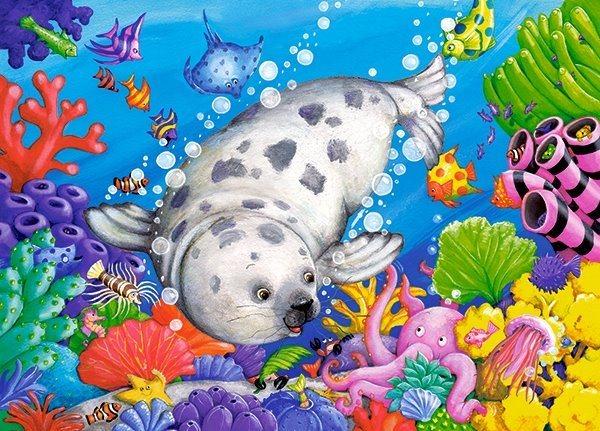 CASTORLAND Puzzle Na korálovém útesu 60 dílků