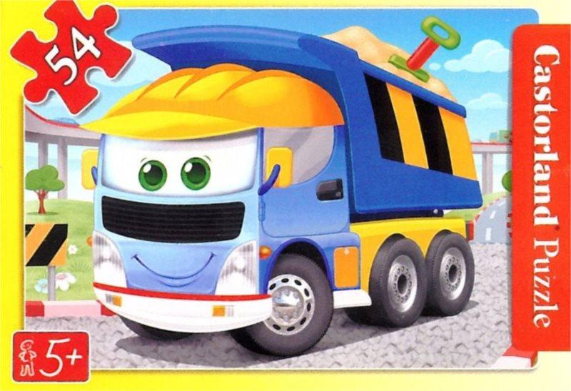 CASTORLAND Dětské puzzle 54 dílků - Nákladní auto