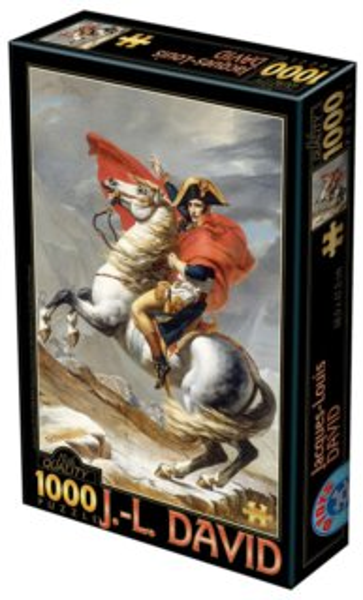 D-TOYS Puzzle Napoleon při přechodu přes Alpy 1000 dílků