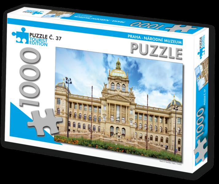 TOURIST EDITION Puzzle Národní muzeum, Praha 1000 dílků (č.37)