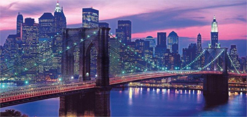 Puzzle CLEMENTONI 13200 dílků - New York