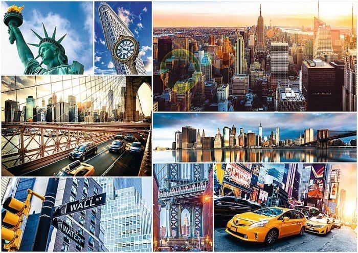 TREFL Puzzle New York 4000 dílků