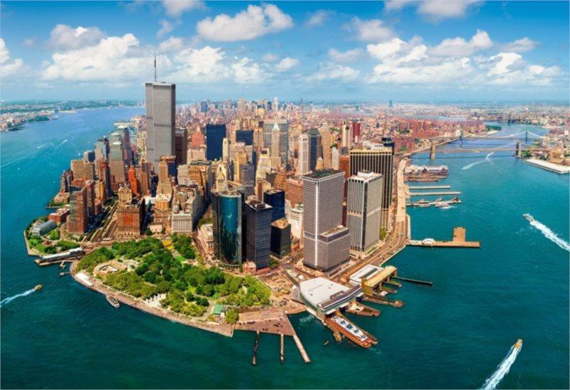 CASTORLAND Puzzle New York před 11. zářím 2000 dílků